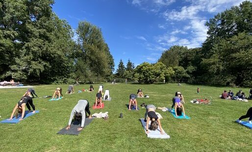 Yoga in the Park with Ivonne